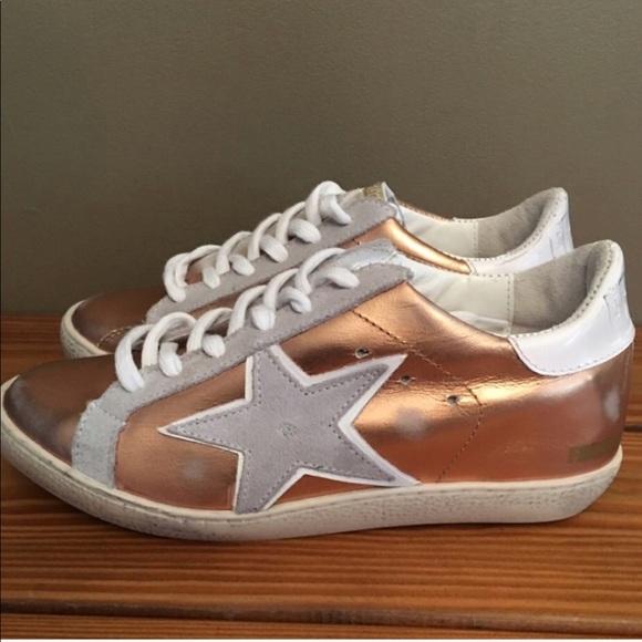 NIB New $129 Freebird by Steven Women/'s 927 Shoes Sneakers Rose Gold Size 9